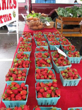 Delvin Farms strawberrys